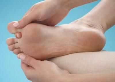 dedão do pé dormente